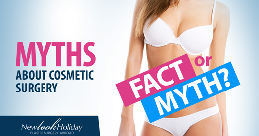 myths about plastic surgery image