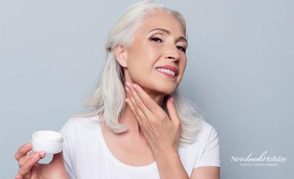 noninvasive treatments for turkey neck skin