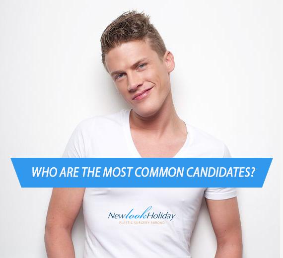 Candidate men's facelift