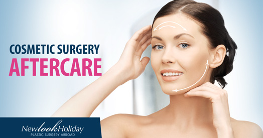 image of cosmetic surgery aftercare